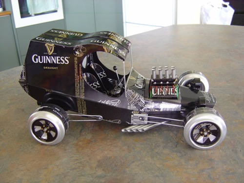 Guinness Beer Can Car