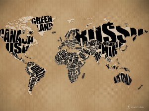 typographic_world_map