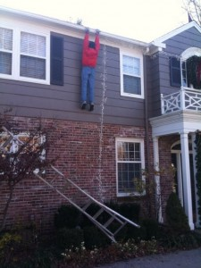 When Christmas decorating goes wrong