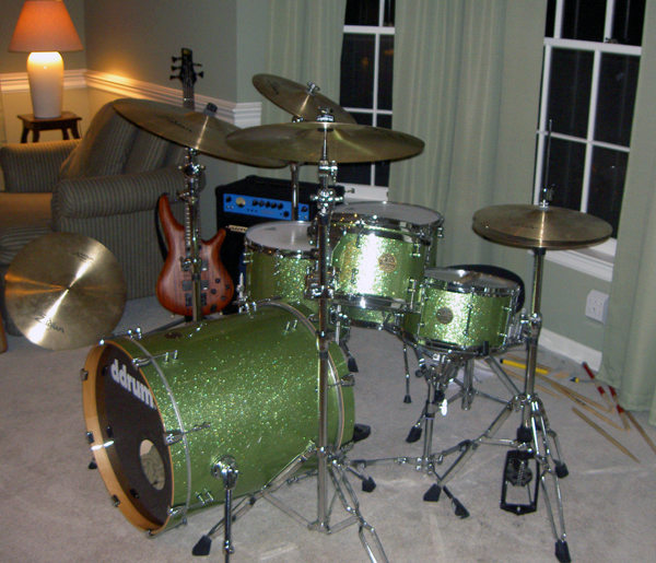 D Drum Green 5 Set Image