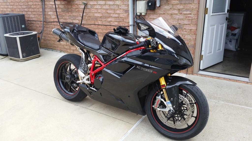 2007 Ducati 1098s Dark