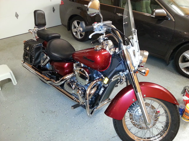 Honda Shadow 750- first bike
