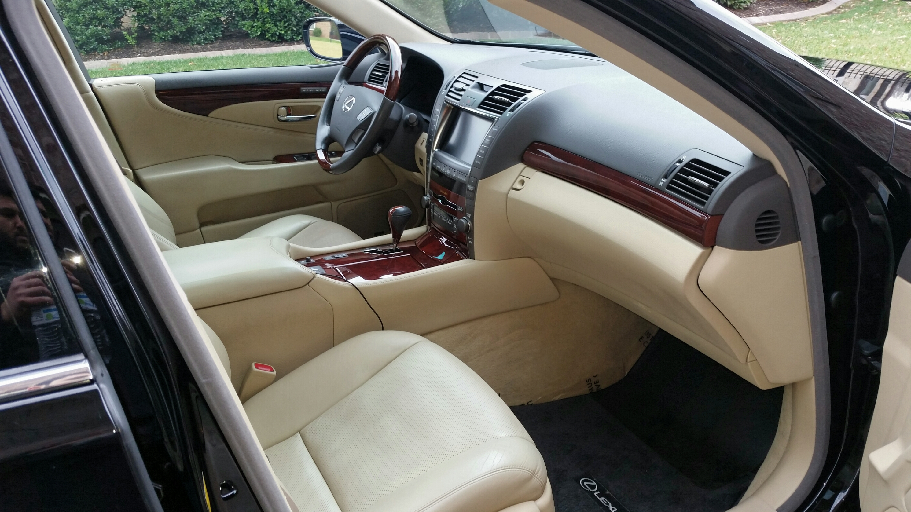 2008 lexus ls 460 interior